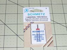 Schmetz Universal Twin Needle 130/705H Zwi: 4,0/80 (Art 1794 D) Single twin