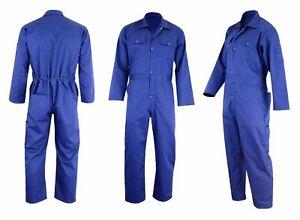 Overalls Coveralls Working Wear Builder Mechanic Carpenter Multi Pockets Wear UK