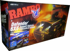 RAMBO Force of Freedom - Defender 6x6 Assault Vehicle New! Mint In Sealed Box!!
