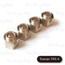 Fumi Brass Hex. Wheel Hub (4) for Traxxas TRX-4 / 5mm wider - 31017br (BRASS)