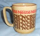 Vintage Nestle Rich 'n Creamy Hot Cocoa Mug Cup 3 1/2 Inches Tall