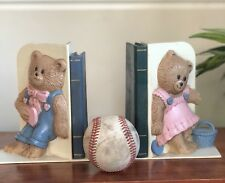 Vintage Home Interiors & Gifts TeddyBear Bookends