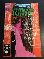 "Marc Spector,Moon Knight#29 Incredible Condition 9.2(1991)""Scarlet Redemption"""