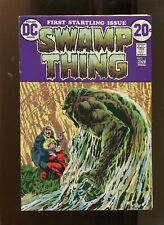 SWAMP THING #1 (6.0) KEY ISSUE! 1972