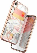 For iPhone XR Wallet Case i-Blason Cosmo Slim Stylish Wallet Cover Credit Holder