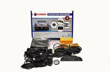 CISBO CAR REAR REVERSING PARKING SENSORS FOUR SENSOR BUZZER LED DISPLAY SYSTEM