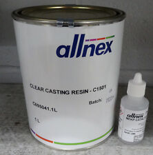 Polyester Clear Casting Resin and Hardener - 1Ltr