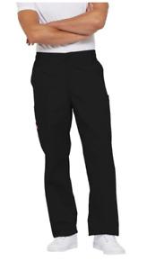 DICKIES Mens EDS Signature Cargo Scrub Pants 81006 Size XL - Black