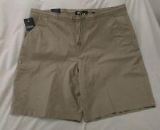 Chaps Cargo Shorts Mens 52 Stretch Big Tall Comfort Waistband Khaki Beige F9