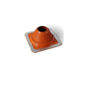 Roof Flashing for wood burning flue pipes on tiled, flat and corrugated roofs