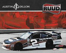 "2017 AUSTIN DILLON ""RUUD RCR RACING CAMARO"" #2 NASCAR XFINITY SERIES POSTCARD"