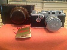 Vintage Leica Ernst Leitz GMBH Wetzlar DBP #767 657 w/ Case Made in Germany !!