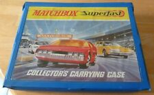 Matchbox Superfast 48 Car Carry Case with 4 Empty Trays