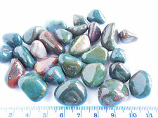 102.4g TUMBLED BLOODSTONE from INDIA  AAA 15-20mm ;Metaphysical; Healing; (#15)