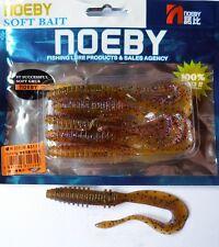 Noeby pêche leurre souple odorant worm twist 14cm non étiré 13g couleur 209