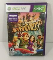 Kinect Adventures Xbox 360, 2010 Complete Video Game With Manual NIB