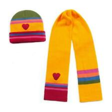 Kidorable Yellow Heart Knitwear Kids Childrens Girls Knitted Winter Accessories