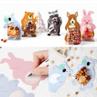 10set Animal Self Adhesive Cookie Candy Package Bags Cellophane Party Birthday