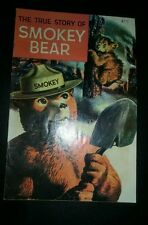 The True Story of Smokey the Bear Comic 1969 fire safety prevention wildlife