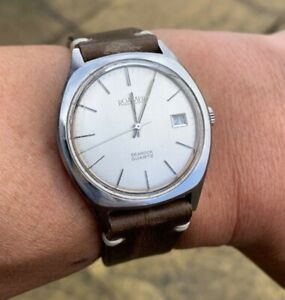 Vintage Roamer searock Quartz Sports Watch