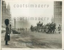 1926 Beefeaters Royal Procession on Way to House of Lords England Press Photo