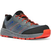 "Danner 12375 Men's Run Time 3"" Blue/Red NMT Composite Toe Sneaker Work Shoes"