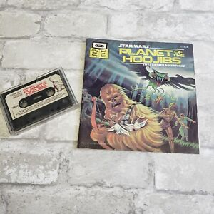 Vintage 1983 Star Wars Planet of Hoojibs Cassette Tape & 24 Page Book Read Along