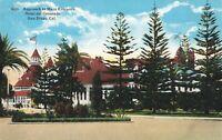 Postcard Hotel del Coronado San Diego California