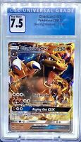 2017 Pokemon Sun & Moon Burning Shadows 20/147 CHARIZARD GX CGC 7.5 PSA 7.5-8 🔥