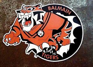 BALMAIN TIGERS Vinyl Decal Sticker RETRO RUGBY LEAGUE NRL