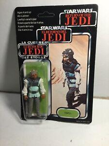 Vintage Palitoy Star War Nikto Figure 1983 Return Of The Jedi 79 Back Card