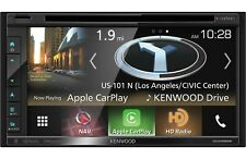 Kenwood DNX695S Built-In GPS, Car Play, HD Radio, Bluetooth, USB MP3, DVD 2-DIN