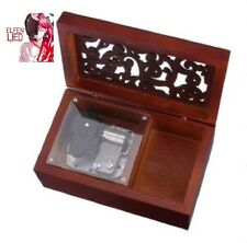 Wooden  with Open Gothic Pattern Lid Jewelry : ELFEN LIED