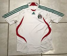 c48a87bf2f7 Rare ADIDAS Mexico National Team 2007 Away WHITE Jersey Men s Medium