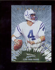 1997 CE Masters JIM HARBAUGH Indianapolis Colts Nitro Gold Insert Card