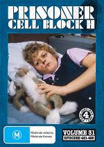 Prisoner Cell Block H Volume 31 Episodes 481 - 496 New DVD Region ALL Sealed