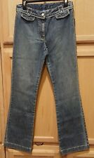 Nautica 64P250 Medium Wash Town Fit Blue Stretch Denim Bootcut Jeans, 6R - $79