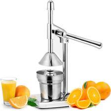 Orange Hand Press Citrus Squeezer Fruit Juicer Manual Juice Stainless Steel XL