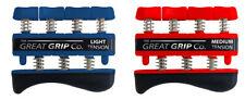 The GREAT GRIP™ TWO PACK Lt & Med (5 lb & 7 lb finger) LIFETIME WARRANTY