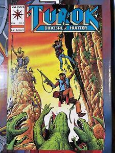 TUROK  DINOSAUR HUNTER #7  VALIANT/ACCLAIM COMICS 1994 VF/NM