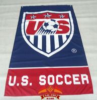 Team USA Soccer Soccer Banner Flag Custom Football Flag