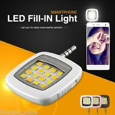 Selfie Flash Light 16 LED Night Windows Samsung All Android Mobile Phone