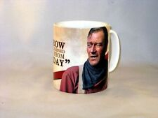 John Wayne Hopes Tomorrow Famous Quote MUG.