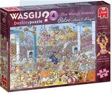 "Wasgij Jigsaw ""The Wasgij Games"" 1000 Piece Retro Jigsaw Puzzle"