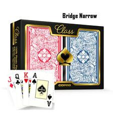 COPAG Plastic Playing Cards Bridge Size Jumbo Index Class Legacy Free Gift