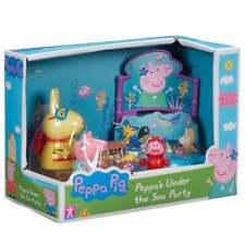 Peppa Pig-Peppa 's Sea Fiesta Playset Inc Under the Miss Rabbit & George figuras