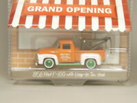Greenlight 1:64 Green Machine 1956 Ford F-100 with Diop In Two Hook Diecast car
