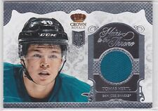 2013 13-14 Crown Royale Heirs to the Throne Materials #HTTHE Tomas Hertl