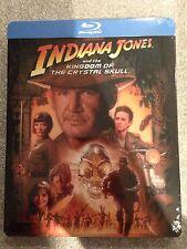 Indiana Jones And The Kingdom Of The Crystal Skull Steelbook  Blu-Ray