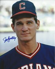 Jeff Barkley autographed 8x10 Cleveland Indians In Person #2